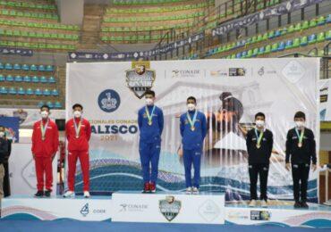 Cierra Jalisco su participación en la gimnasia de trampolín de los Nacionales CONADE con medalla de oro
