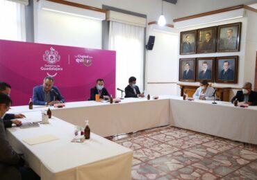 Quedaron ya instaladas seis comisiones edilicias en Guadalajara
