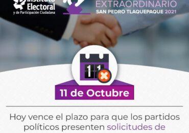 Registra Morena coalición por Tlaquepaque