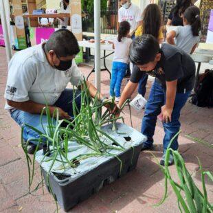 Promueve DIF Zapopan los huertos urbanos en conmemoración al Día Mundial de la Alimentación